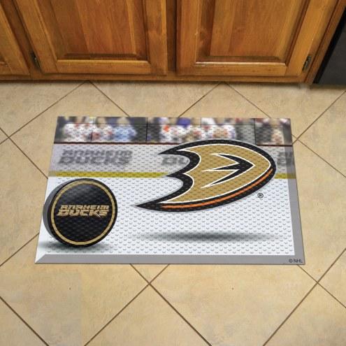 Anaheim Ducks Scraper Door Mat