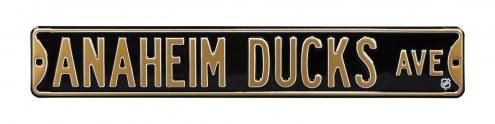 Anaheim Ducks Street Sign