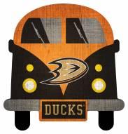 Anaheim Ducks Team Bus Sign