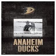 """Anaheim Ducks Team Name 10"""" x 10"""" Picture Frame"""