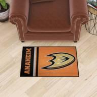 Anaheim Ducks Uniform Inspired Starter Rug