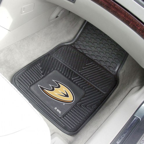 Anaheim Ducks Vinyl 2-Piece Car Floor Mats