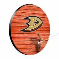Anaheim Ducks Weathered Design Hook & Ring Game