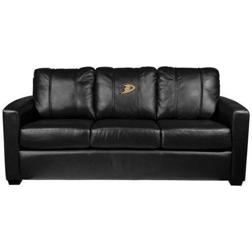 Anaheim Ducks XZipit Silver Sofa