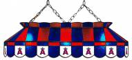 """Los Angeles Angels of Anaheim MLB Team 40"""" Rectangular Stained Glass Shade"""