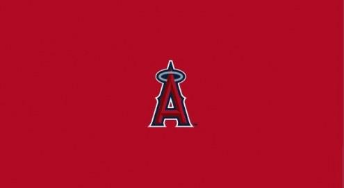 Los Angeles Angels of Anaheim MLB Team Logo Billiard Cloth