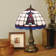 Los Angeles Angels of Anaheim MLB Stained Glass Table Lamp