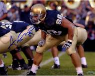 Anthony Fasano Notre Dame At Line of Scrimage Horizontal 8 x 10 Photo