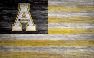 "Appalachian State Mountaineers 11"" x 19"" Distressed Flag Sign"