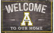"Appalachian State Mountaineers 11"" x 19"" Welcome to Our Home Sign"