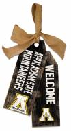 "Appalachian State Mountaineers 12"" Team Tags"