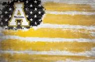 "Appalachian State Mountaineers 17"" x 26"" Flag Sign"