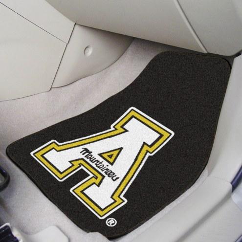 Appalachian State Mountaineers 2-Piece Carpet Car Mats