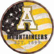 "Appalachian State Mountaineers 24"" Flag Barrel Top"