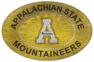 "Appalachian State Mountaineers 46"" Heritage Logo Oval Sign"
