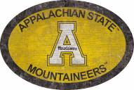"Appalachian State Mountaineers 46"" Team Color Oval Sign"