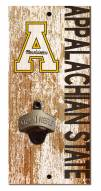 "Appalachian State Mountaineers 6"" x 12"" Distressed Bottle Opener"