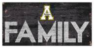 "Appalachian State Mountaineers 6"" x 12"" Family Sign"