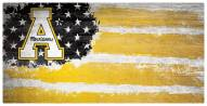 "Appalachian State Mountaineers 6"" x 12"" Flag Sign"