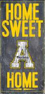 "Appalachian State Mountaineers 6"" x 12"" Home Sweet Home Sign"