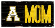 "Appalachian State Mountaineers 6"" x 12"" Mom Sign"