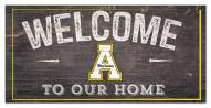 "Appalachian State Mountaineers 6"" x 12"" Welcome Sign"