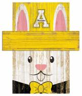 "Appalachian State Mountaineers 6"" x 5"" Easter Bunny Head"