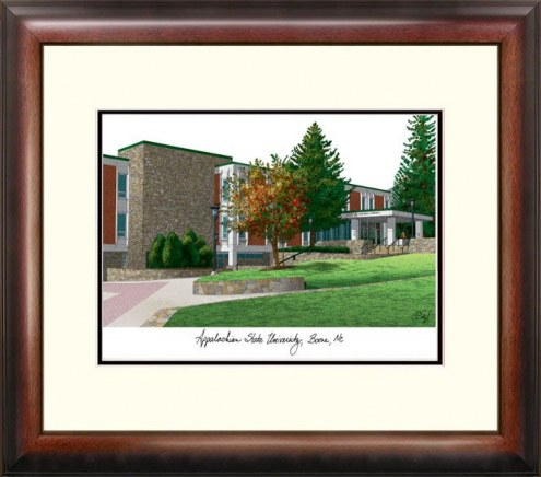 Appalachian State Mountaineers Alumnus Framed Lithograph