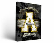 Appalachian State Mountaineers Banner Canvas Wall Art