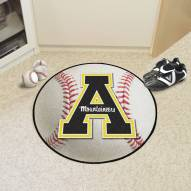 Appalachian State Mountaineers Baseball Rug