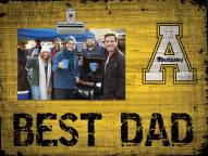 Appalachian State Mountaineers Best Dad Clip Frame