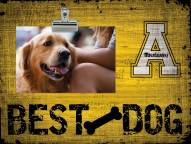 Appalachian State Mountaineers Best Dog Clip Frame