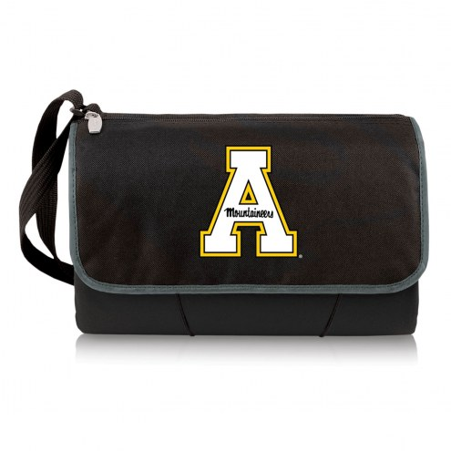 Appalachian State Mountaineers Black Blanket Tote