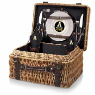 Appalachian State Mountaineers Black Champion Picnic Basket