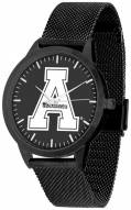 Appalachian State Mountaineers Black Dial Mesh Statement Watch