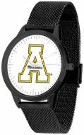 Appalachian State Mountaineers Black Mesh Statement Watch