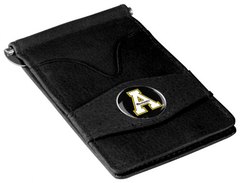 Appalachian State Mountaineers Black Player's Wallet