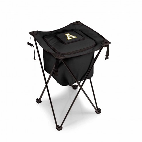 Appalachian State Mountaineers Black Sidekick Portable Cooler