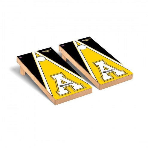 Appalachian State Mountaineers Black Triangle Cornhole Game Set