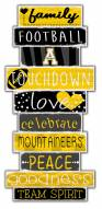 Appalachian State Mountaineers Celebrations Stack Sign