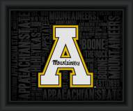 Appalachian State Mountaineers College Word Cloud