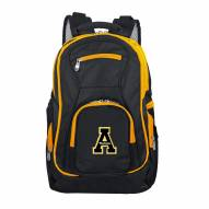 NCAA Appalachian State Mountaineers Colored Trim Premium Laptop Backpack
