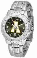 Appalachian State Mountaineers Competitor Steel AnoChrome Men's Watch