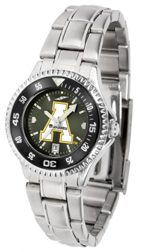 Appalachian State Mountaineers Competitor Steel AnoChrome Women's Watch - Color Bezel