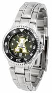 Appalachian State Mountaineers Competitor Steel AnoChrome Women's Watch - Color Bezel