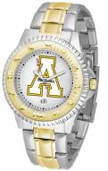 Appalachian State Mountaineers Competitor Two-Tone Men's Watch