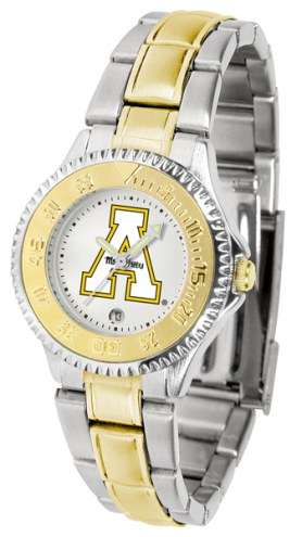Appalachian State Mountaineers Competitor Two-Tone Women's Watch