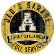 Appalachian State Mountaineers Dad's Garage Sign