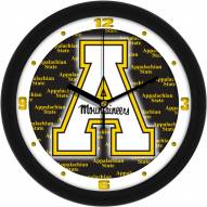 Appalachian State Mountaineers Dimension Wall Clock