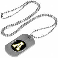 Appalachian State Mountaineers Dog Tag